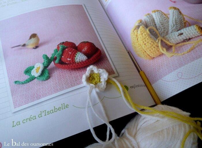 117 Blog Crochet Fleur Fraise Serial Crocheteuses