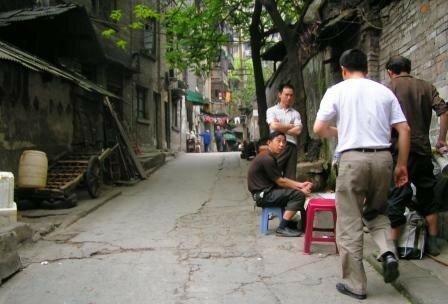 Chongqing vieux quartier