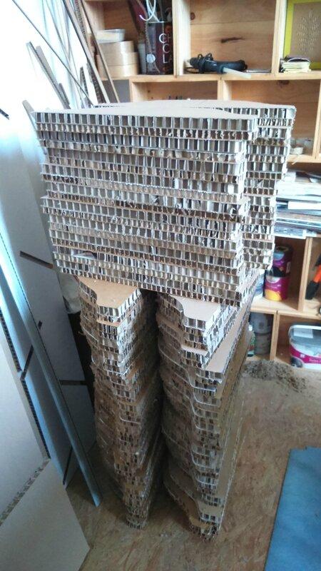 mobilier en carton s4