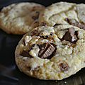 Cookies aux chunks de chocolat au lait