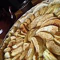 La tarte aux pommes de mon papa