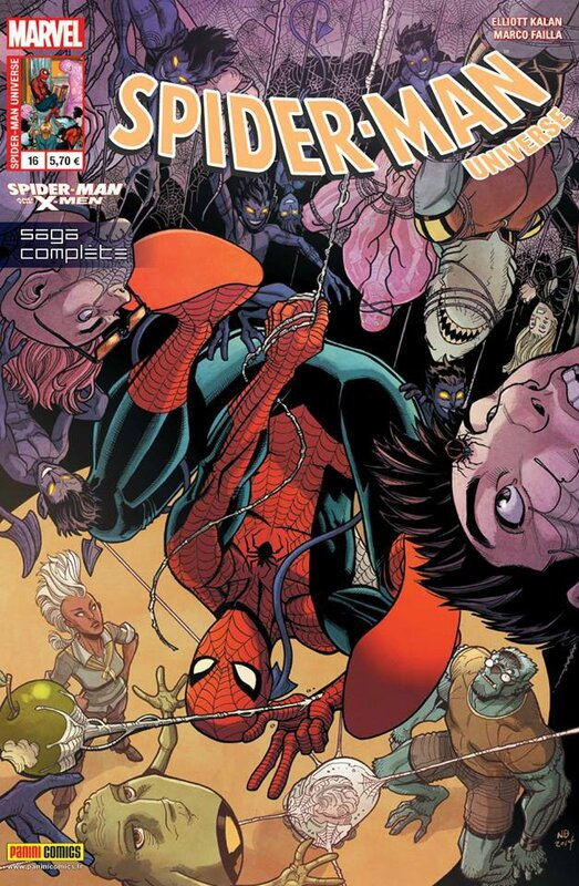 spiderman universe 16 spiderman & the x-men