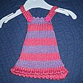 robe a bretelles little louena de kid's tricot