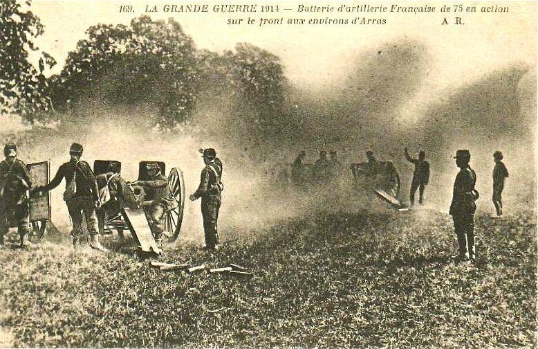 batterie 75 environs Arras