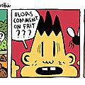 Strip 79 / bill et bobby / la mouche suzuki roshi
