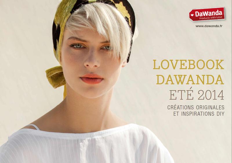 Dawanda Lovebook Cover été 2014