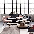 Dco & Couleurs  gris & rose poudr, styl scandinave 