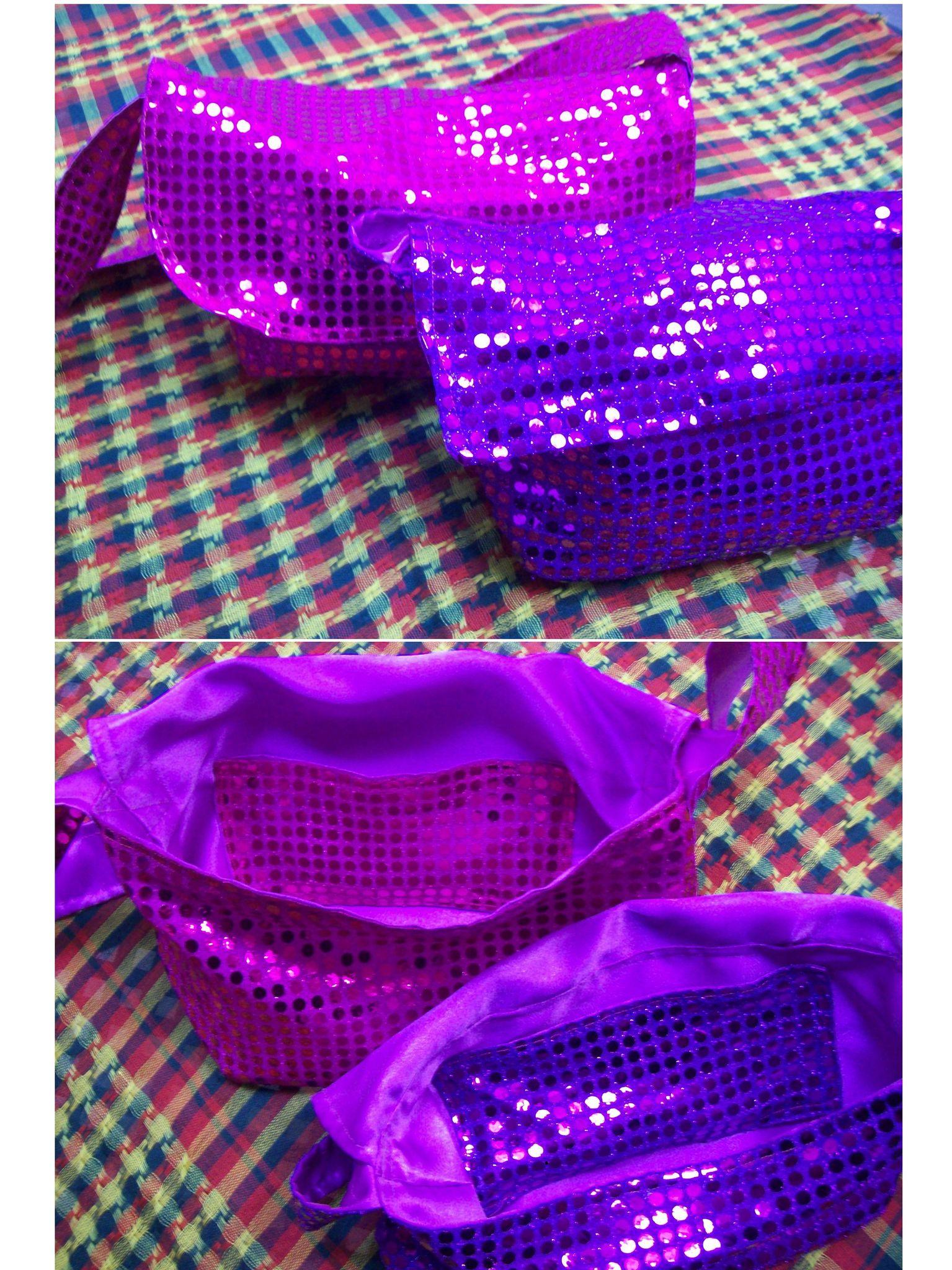 sacs pailletes