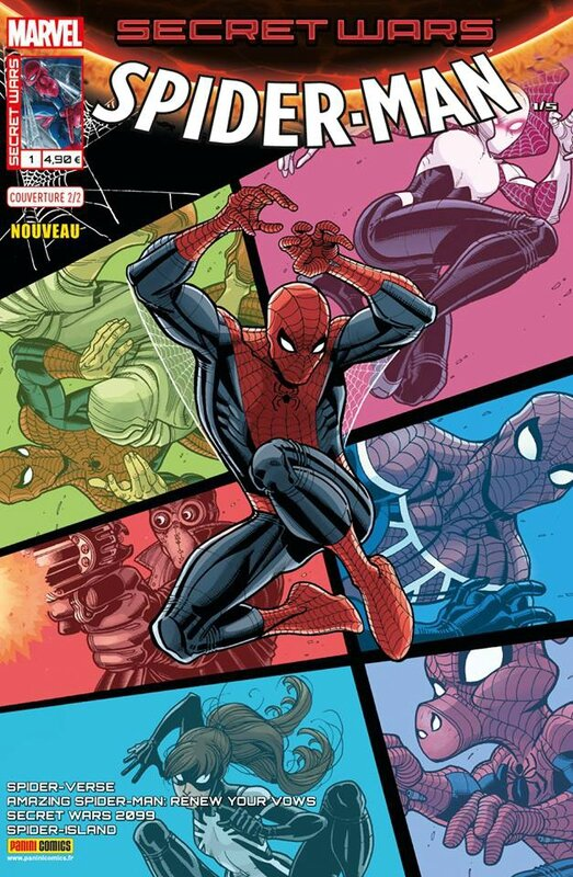 secret wars spiderman 1 cover 2
