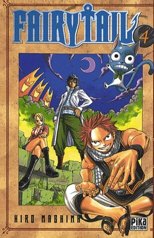Fairy Tail, tome 4