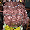 sac a dos rouge coton enduit petit pan diy (6)