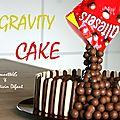 Gravity cake de titounette