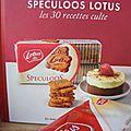 Lotus bakeries ou billes de roquefort à la poire et aux speculoos