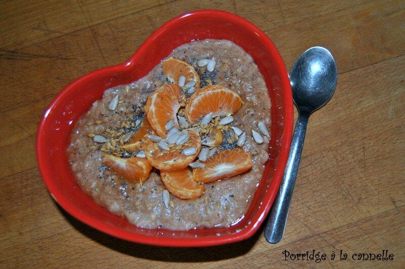 Porridge à la cannelle 1