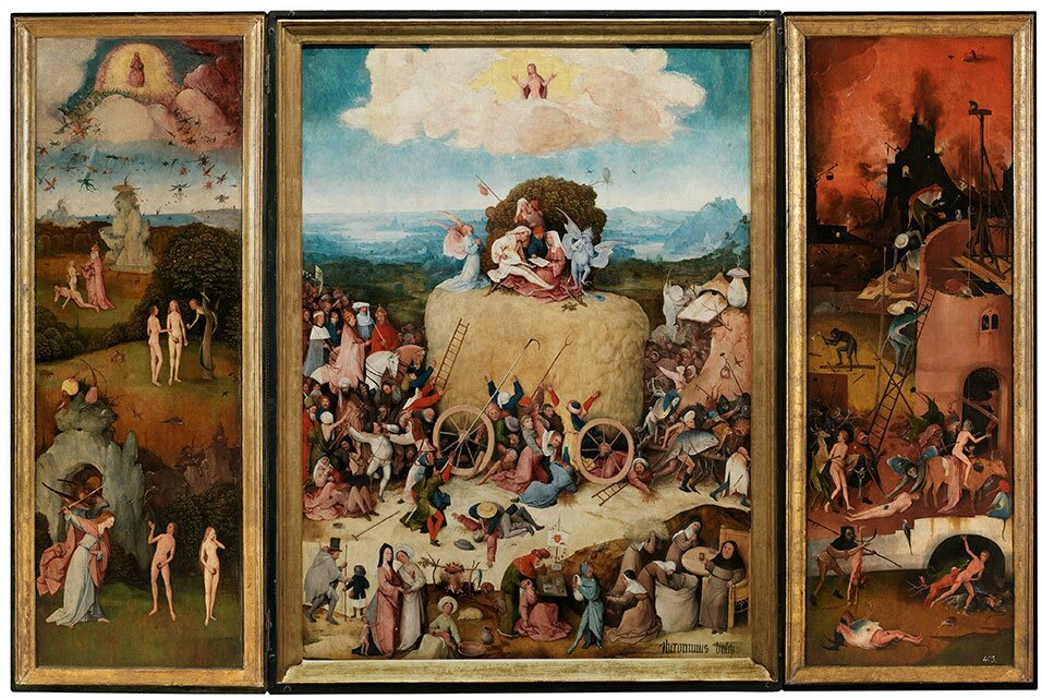 'The Haywain' by Jheronimus Bosch back in the Netherlands after centuries