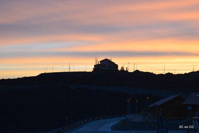 coucher de soleil - Etna - Sicile