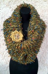 snood moutarde 2