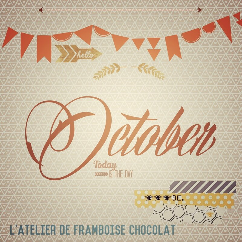 Octobre L'Atelier de Framboise Chocolat Nathalie QUETU