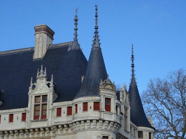 Toits Azay le Rideau