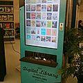 L'aéroport de san antonio installe des bornes de bibliothèque numérique pour les voyageurs