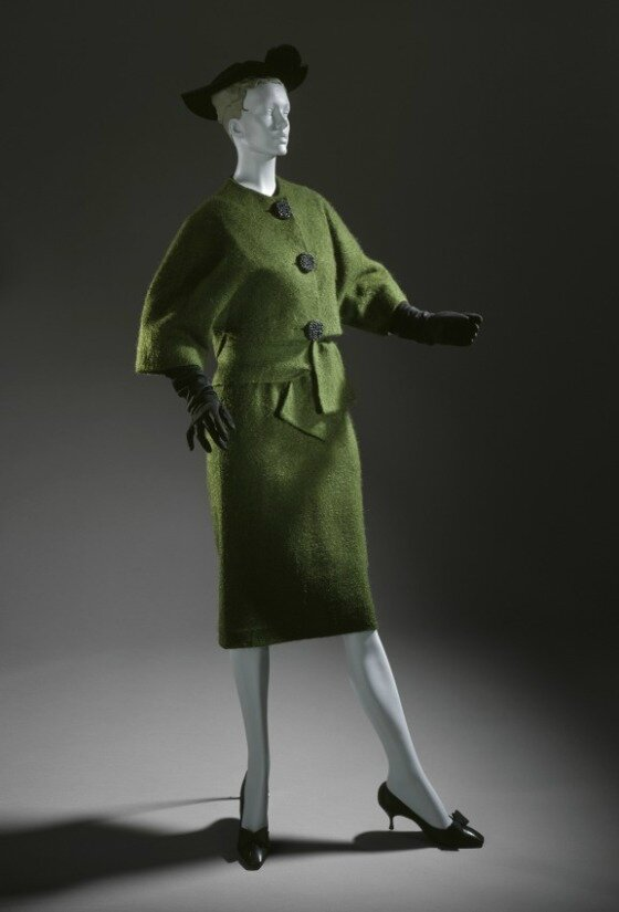 Cristóbal Balenciaga, Woman's Cocktail Dress and Coat, 1957