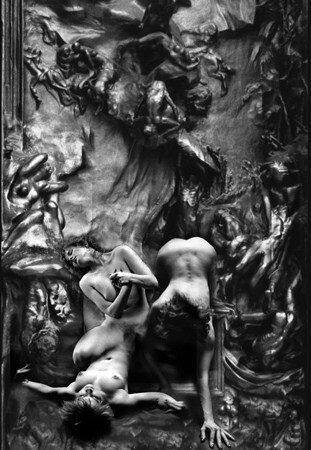 after Rodin's gate