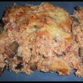 Gratin quinoa-aubergine-comté