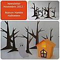 Newsletter Novembre 2012 : Maison Hante Halloween