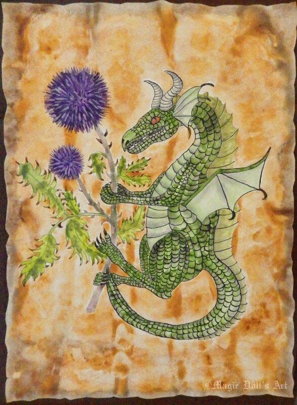 draconis Alpin Médiévale Féerique copie