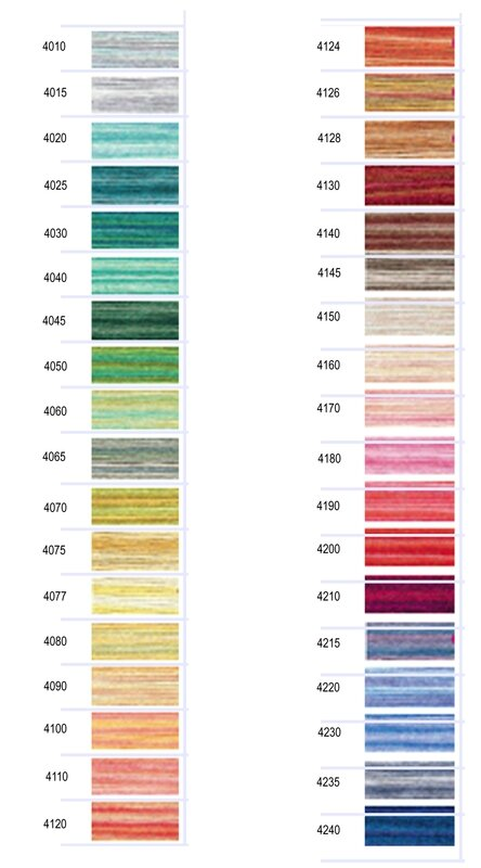Color Variations Color Card Big Swatches