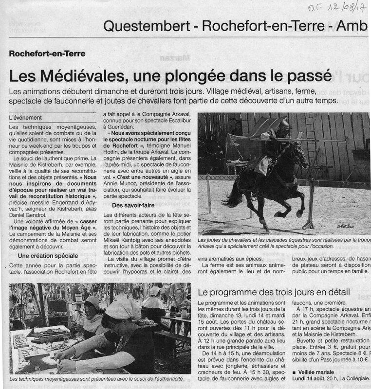 Ouest France 12 Août