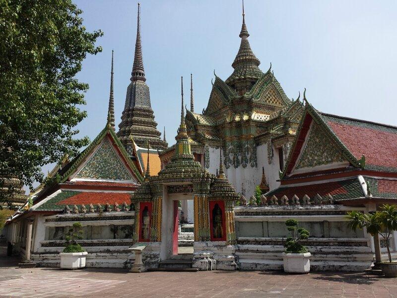 Un des nombreux temples de Bangkok