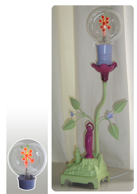 Teresa lampe d corative musicale r cup mr mlle - Decoratie recup ...