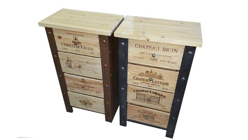 commode , douelledereve,meuble stockage bouteille, meuble de créateur, meuble de cave, meuble tiroir caisse de vin, daout eric