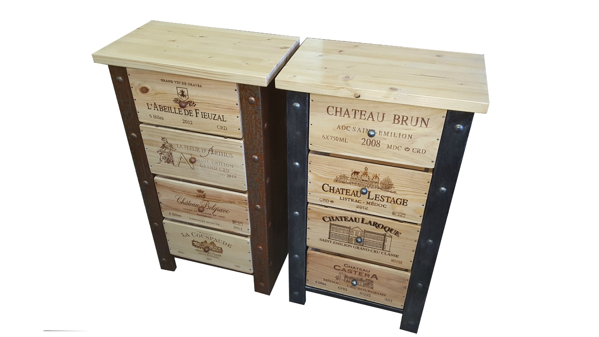 134 meuble bouteille de vin meuble caisse glissi re en ch ne rollcaisse range bouteille. Black Bedroom Furniture Sets. Home Design Ideas