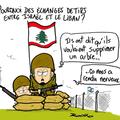 Israël, liban, échange de tirs et ardre à palabre
