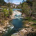 Il a (enfin !) plu en ardèche et c'est une bonne nouvelle pour nos rivières !