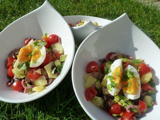 Salade d hiver la table de pascaloue - Salade d hiver variete ...