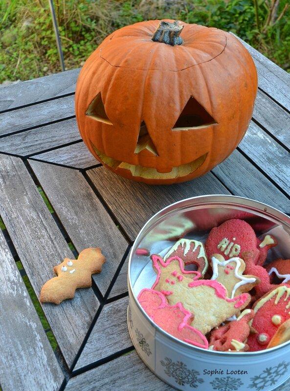 Galettes Bretonnes Halloween