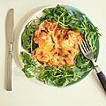 Gratin de chou-fleur aux tomates, basilic & morbier