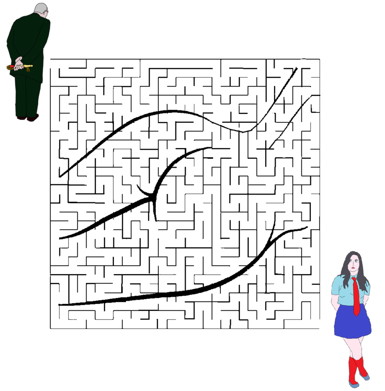 Labyrinthe avec perso