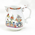 Small Jug with Table Design. Meissen. Circa 1735.