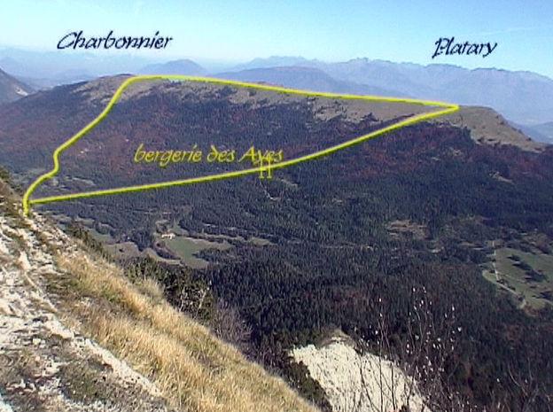Charbonnier – Platary 1586 m de Chichilianne – Vercors