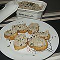 Rillette de sardines au mascarpone ou petite entrée ou apéro entre amis...