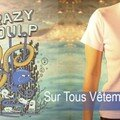 Crazy Poulp chez Rue du Tee !