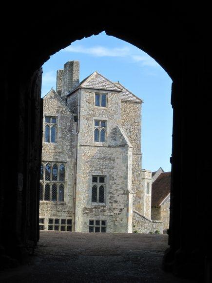 Carisbrook Castle (Isle of Wight) - A l'intérieur de l'enceinte