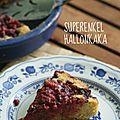 Gâteau trop fastoche aux framboises (superenkel hallonkaka en suédois dans le texte)