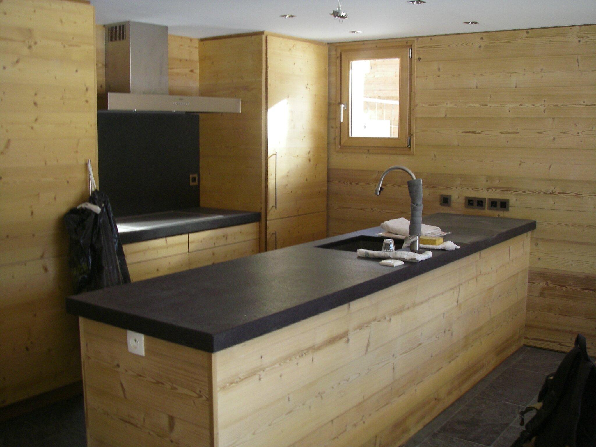 Cuisine photo de agencement int rieur d 39 un appartement for Agencement interieur cuisine
