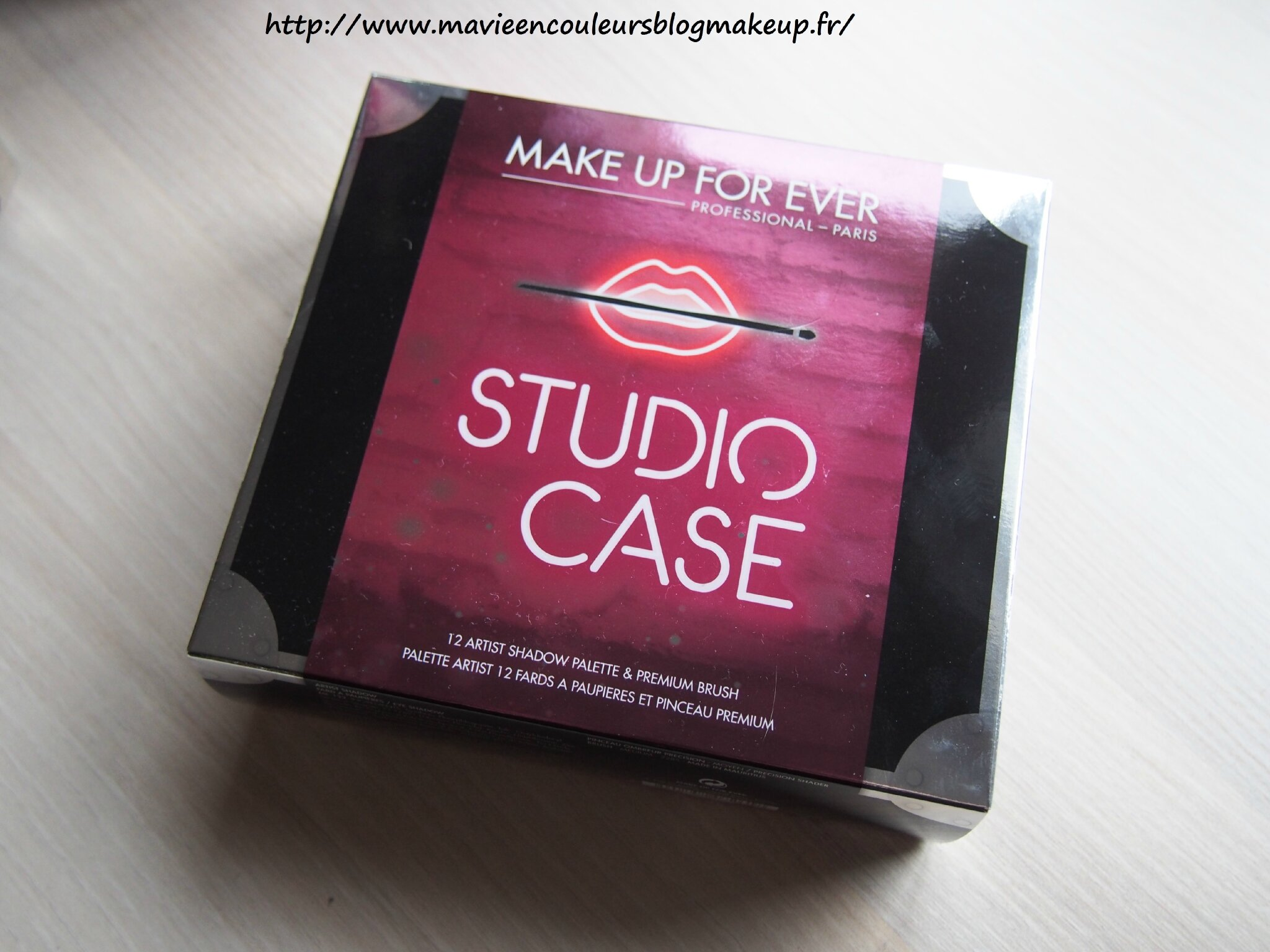 Studio case make up for ever,je suis conquise.