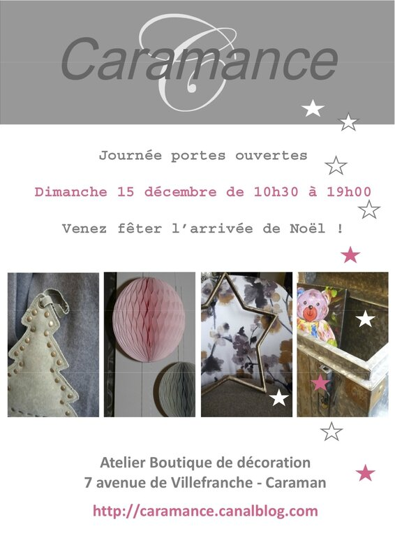 Invitation Caramance noel